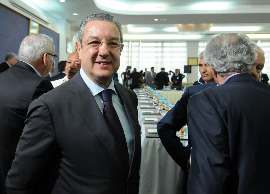 Mohamed Loukal, gouverneur de la Banque d'Algérie. New Press