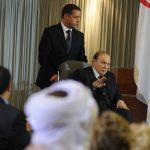 Le président Bouteflika en avril 2014. New Press