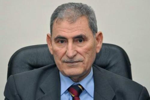 Ahmed Boumehdi, SG par intérim du FLN. D. R.