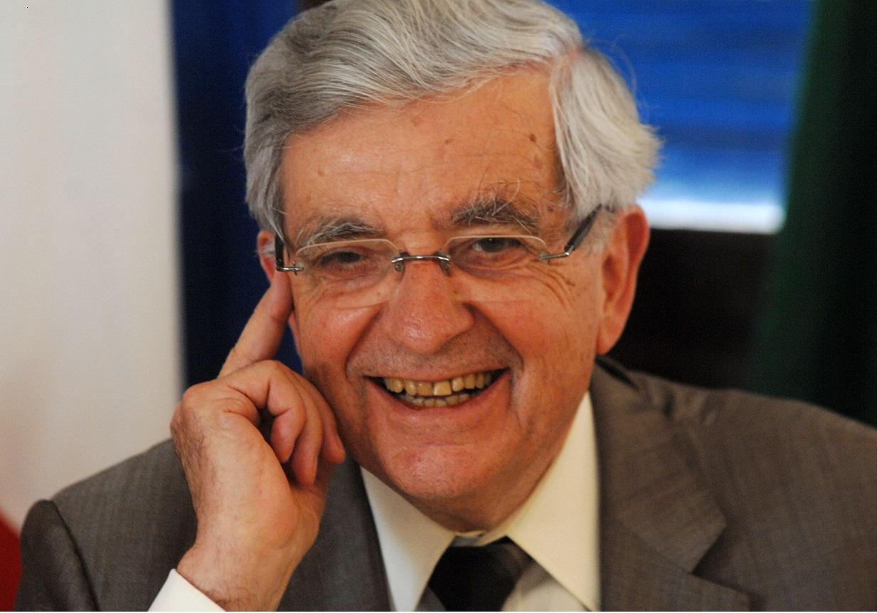 Jean-Pierre Chevènement, président de la Fondation pour l'islam de France. New Press