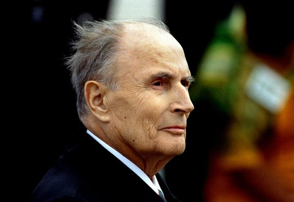 François Mitterrand. D. R.
