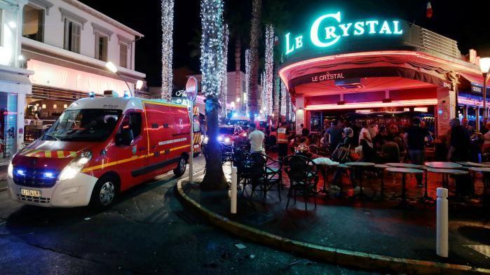 La peur d'un attentat a semé la panique dans ce quartier de nuit. D. R.