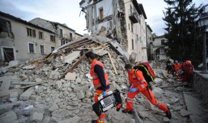 Italie : au moins 18 morts dans un séisme dans le centre du pays