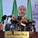 Abderrezak Mokri, président du MSP. NewPress