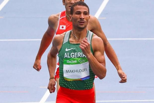 Makhloufi offre l'unique médaille pour l'Algérie. D. R.