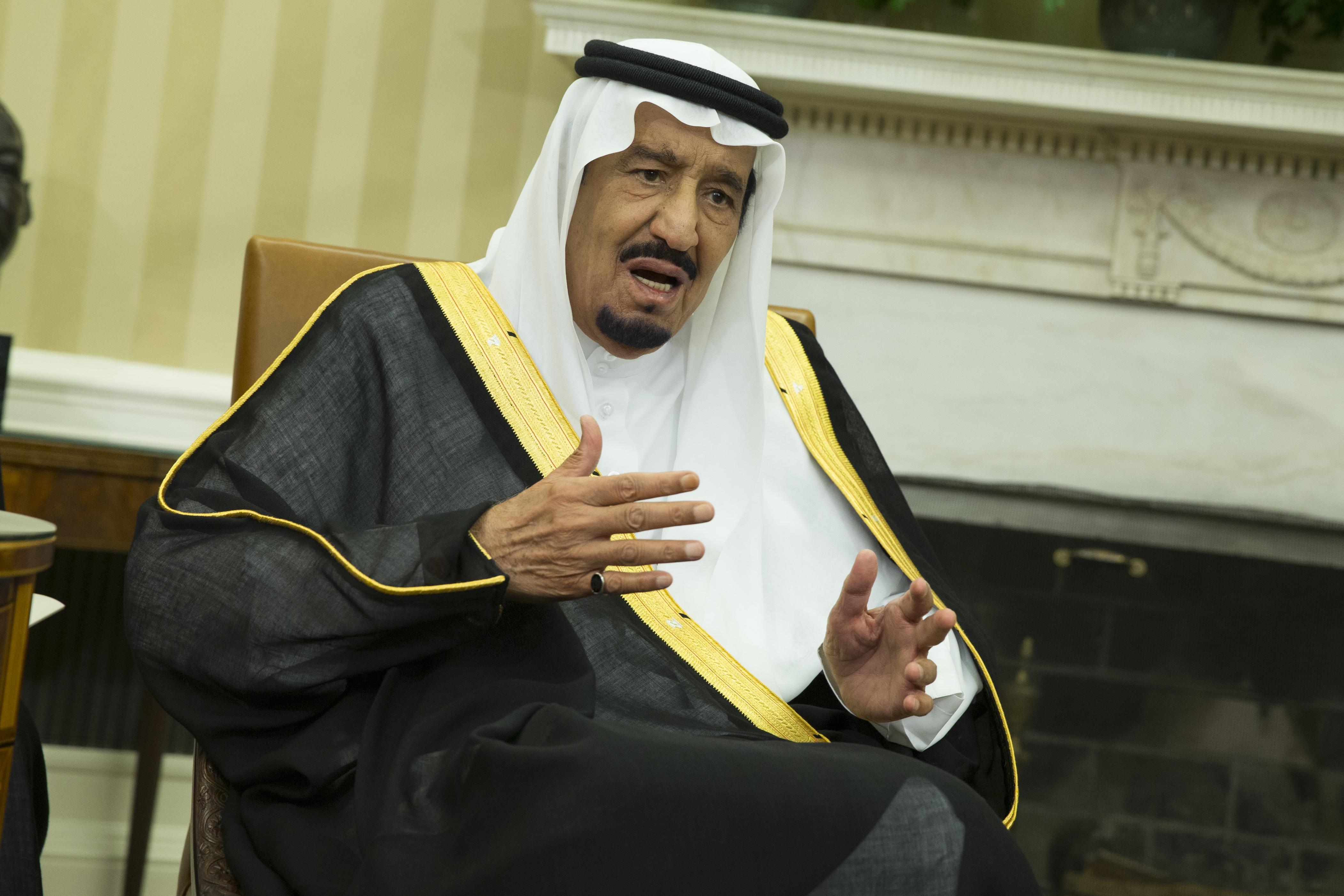 Le roi Salmane a sermonné Sarkozy. D. R.