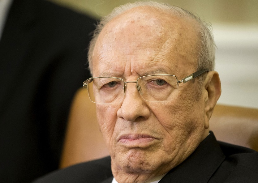 Le Président tunisien Béji Caïd Essebsi. D. R.