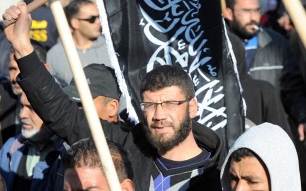 Manifestation du Hizb ut-Tahrir à Tunis. D. R.