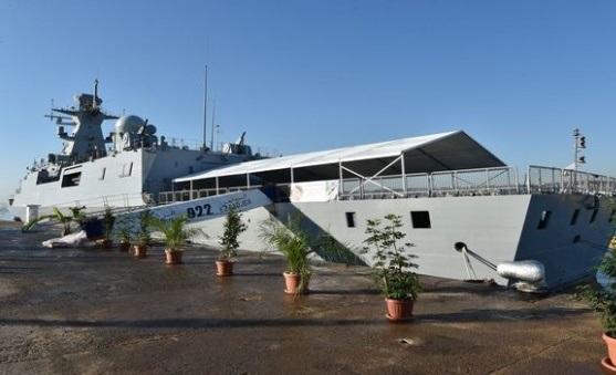 La corvette «Ezzadjer» est dotée des technologies les plus modernes. D. R.