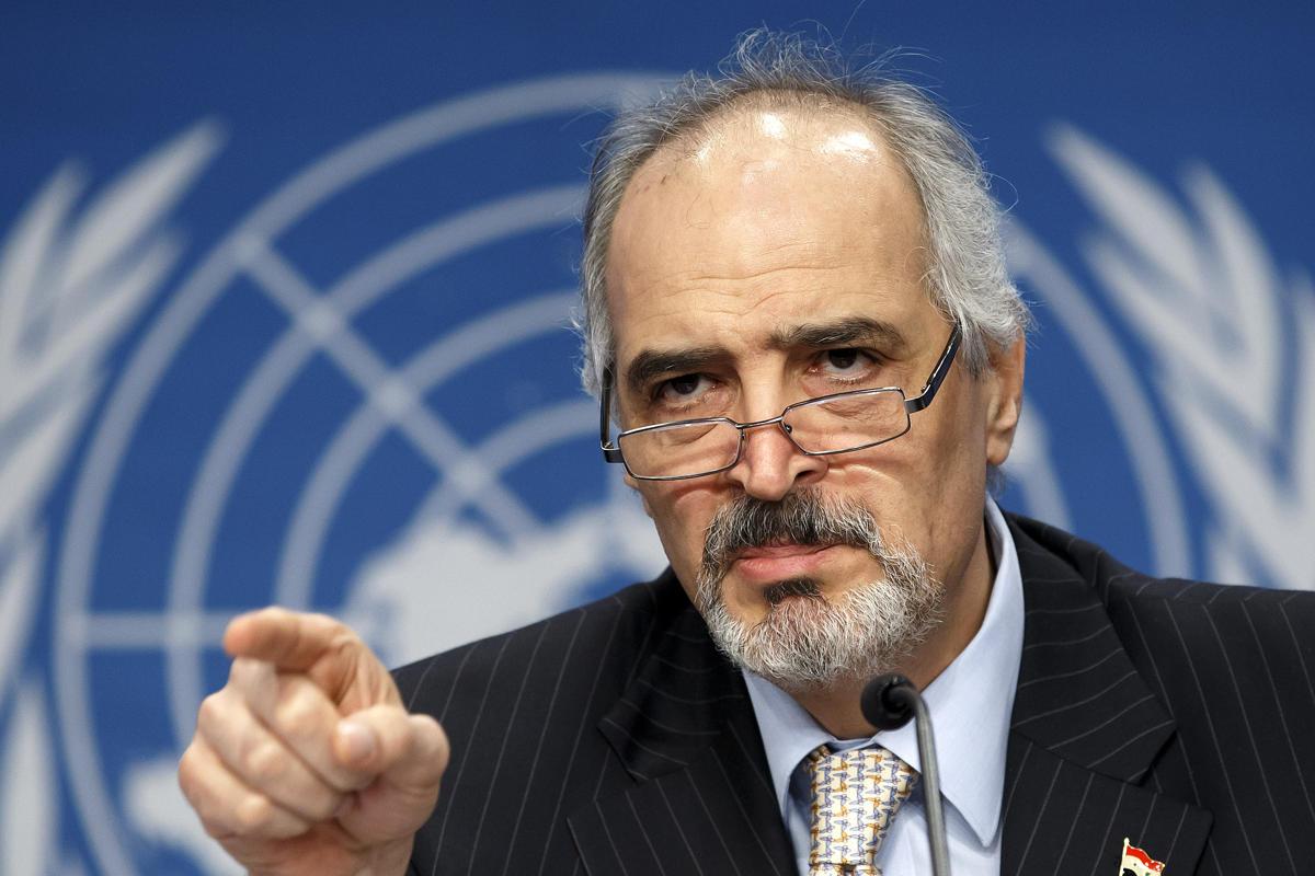 Bachar Al-Jaafari, ambassadeur de Syrie à l'ONU. D. R.