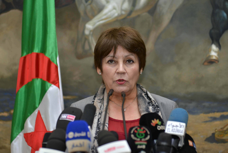La ministre de l'Education nationale, Mme Nouria Benghebrit. New Press