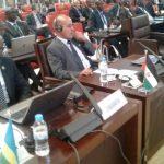 La délégation de la RASD à la réunion du Cissa. D. R.