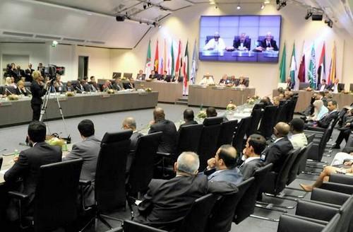 La réunion du 2 juin dernier a maintenu le statu quo. D. R.