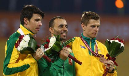 Paralympiques : deux médailles d'Or pour Nouioua et Boudjadar, et du bronze pour Hamdi