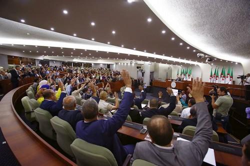 Le vote aujourd'hui du projet de loi. New Press
