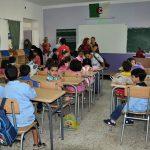 Beaucoup d'enseignants ont été appelés à suivre une formation de remise à niveau. New Press