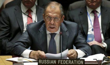 Lavrov sur la Syrie: «L'Occident doit arrêter de soutenir les terroristes»