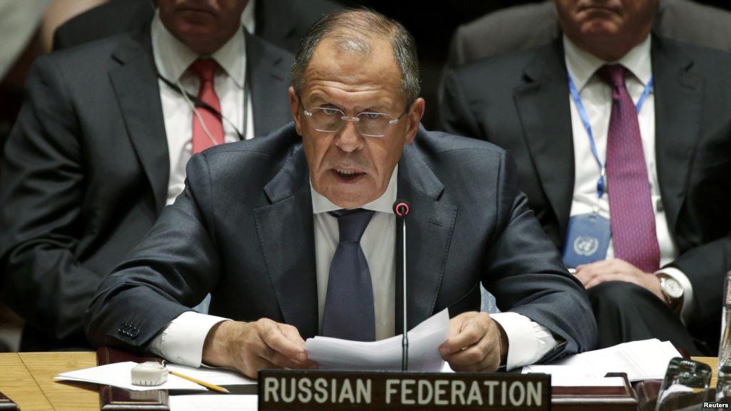 Le ministre des Affaires étrangères russe, Sergueï Lavrov. D. R.