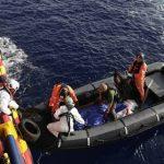 Les migrants secourus dimanche étaient partis de Libye. D. R.