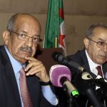 Abdelkader Messahel et Ramtane Lamamra. New Press