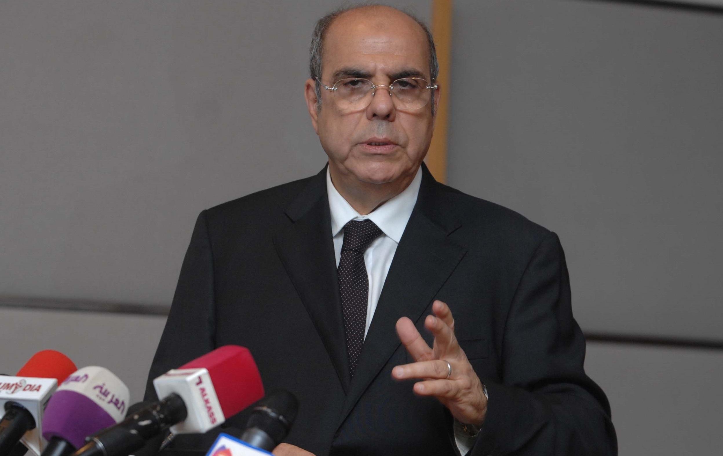 Le président de la Fédération algérienne de football (FAF), Mohamed Raouraoua