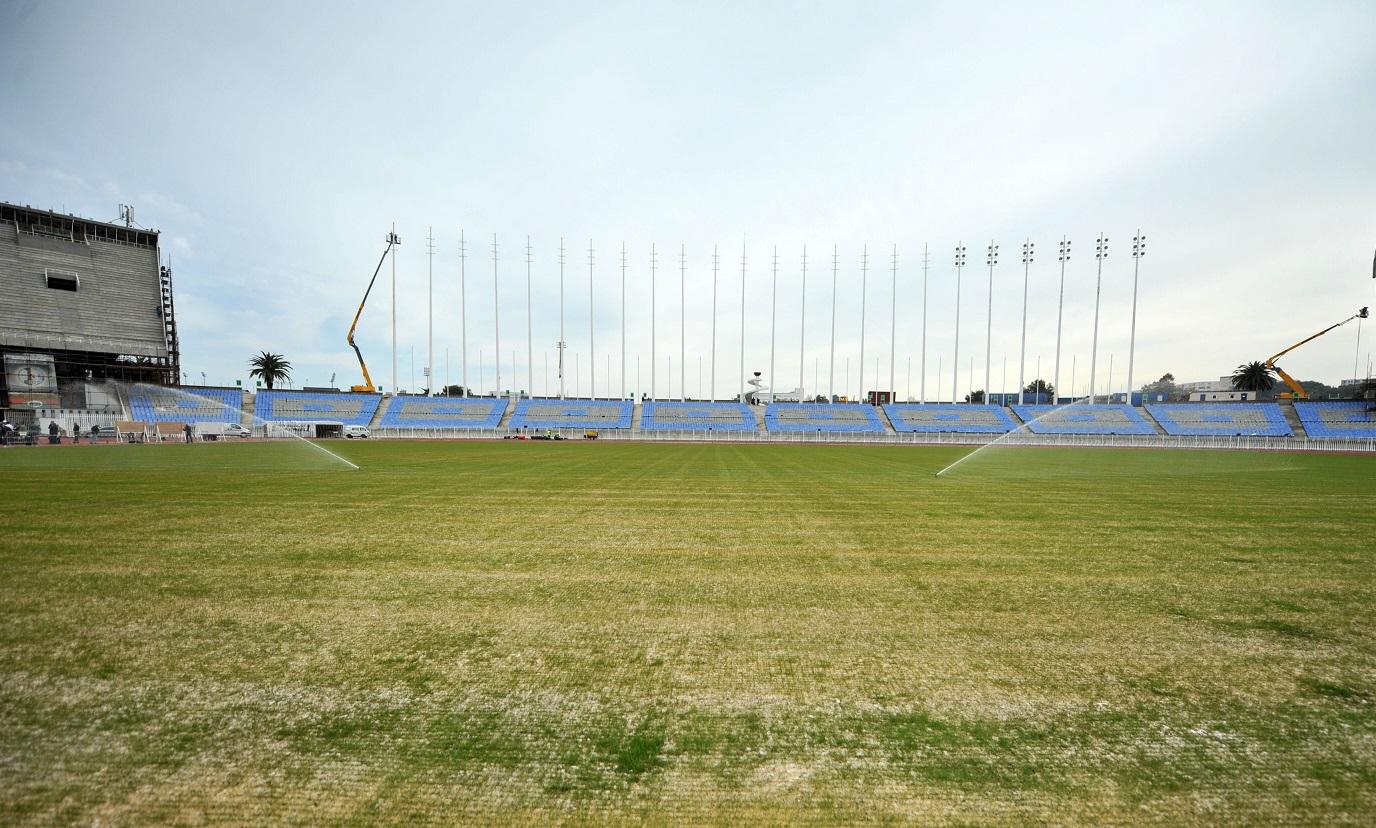 La dernière rénovation de la pelouse remonte à l'année 2015. New Press