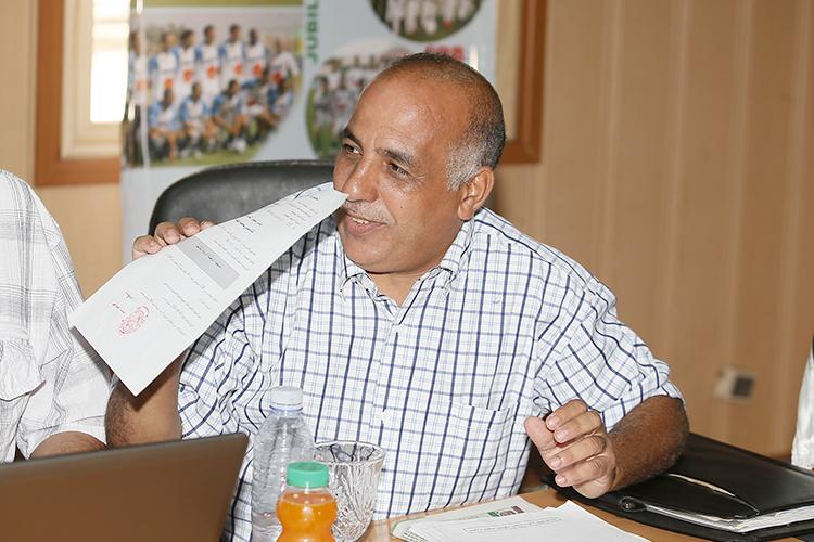 Ali Benzina, président de l'Association des parents d'élèves. D. R.