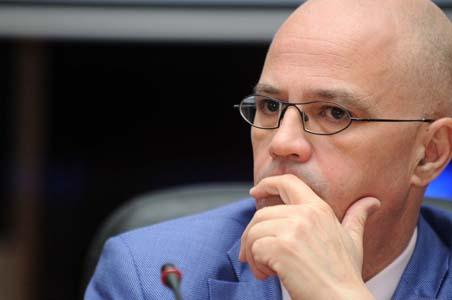 Hassan Tidjani Haddam, DG de la Cnas. New Press