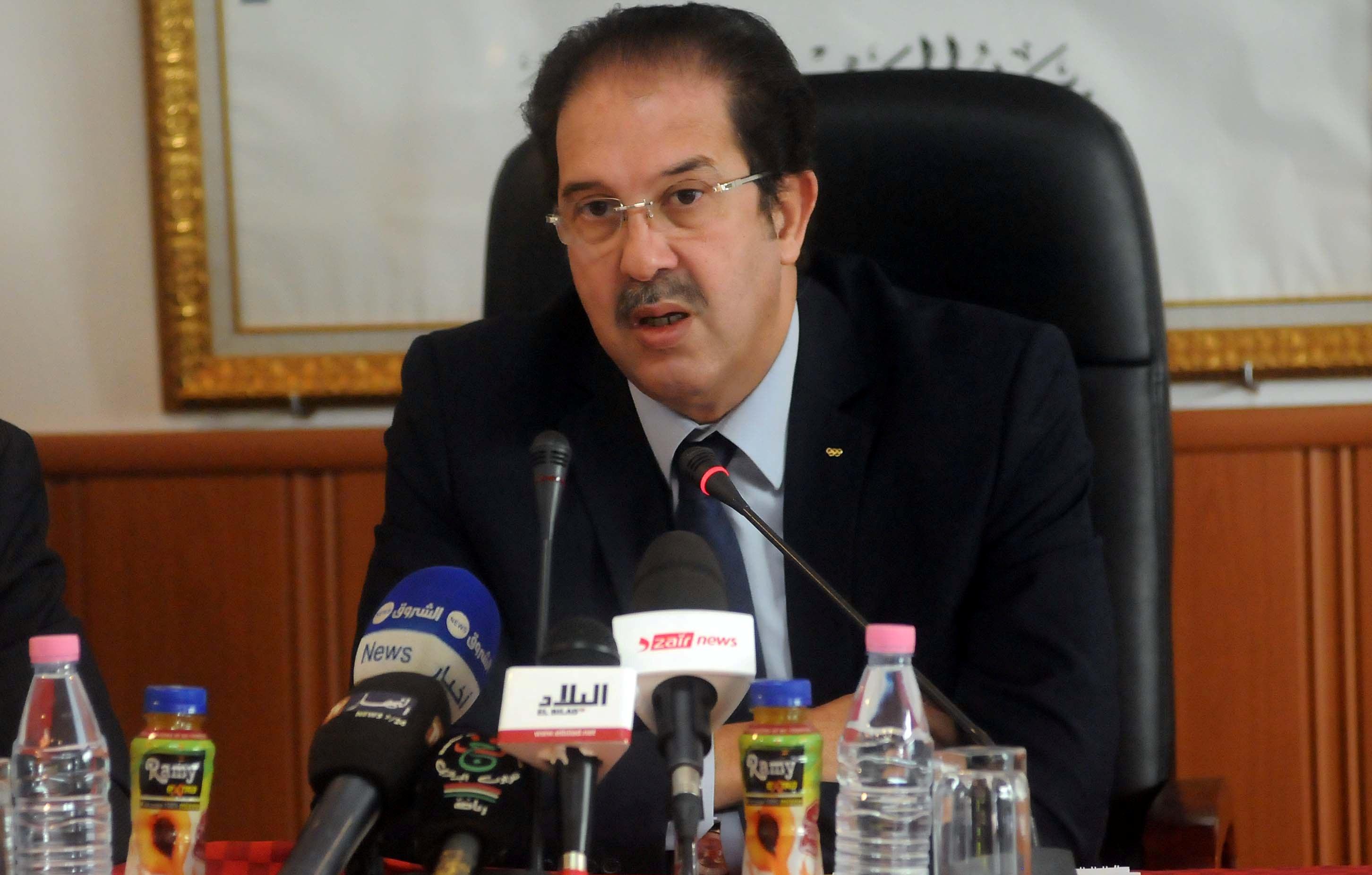Mustapha Berraf, président du Comité olympique algérien (COA). New Press