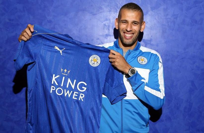 Leicester City lors de la signature du contrat. D. R.