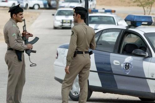 Des policiers saoudiens. D. R.