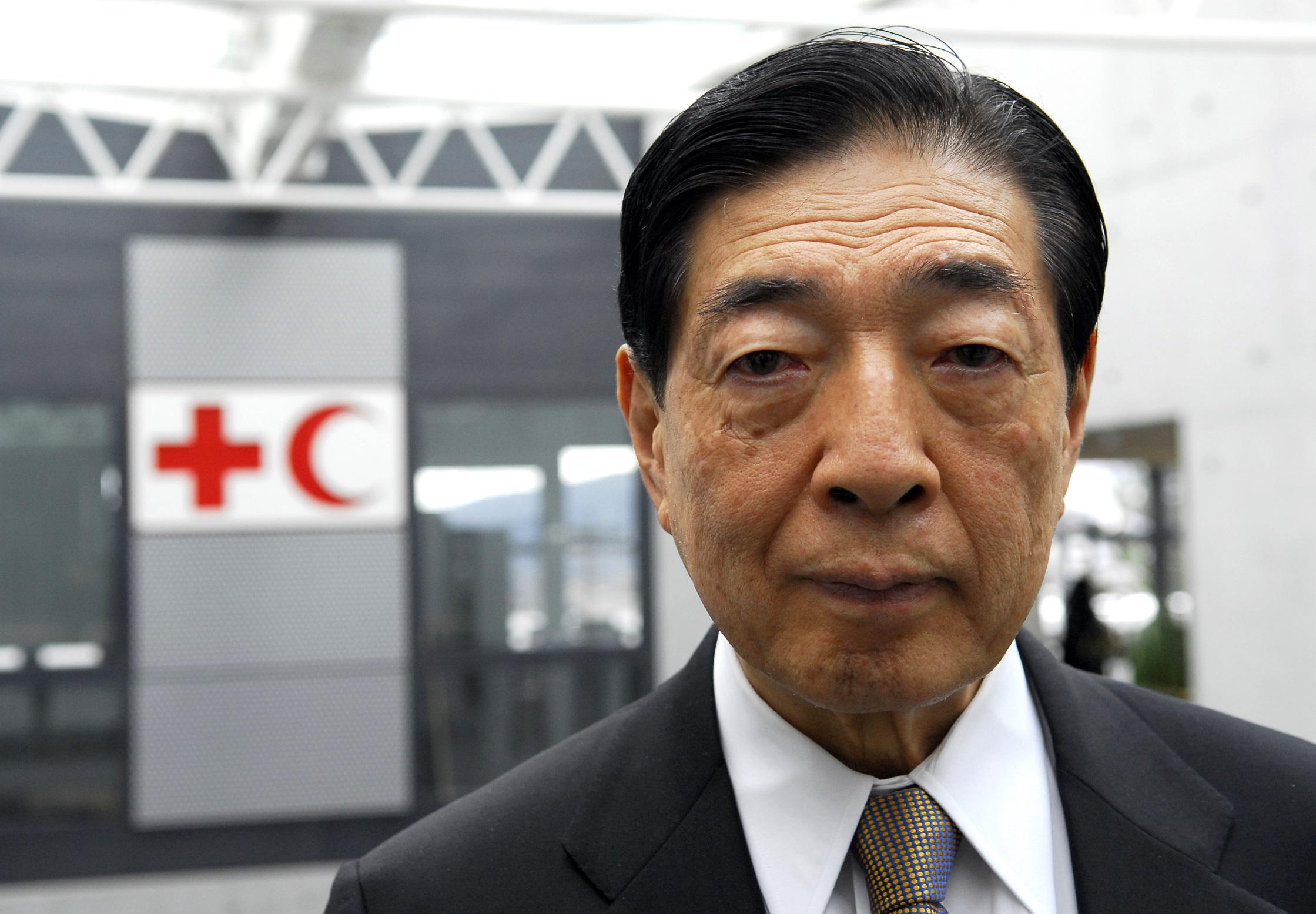 Tadateru Konoé, président de la Fédération internationale des sociétés de la Croix‑Rouge et du Croissant‑Rouge. D. R.