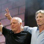 David Gilmour (à gauche) et Roger Waters ensemble pour la Palestine. D. R.