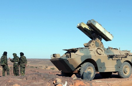 Une unité de l'armée sahraouie. New Press