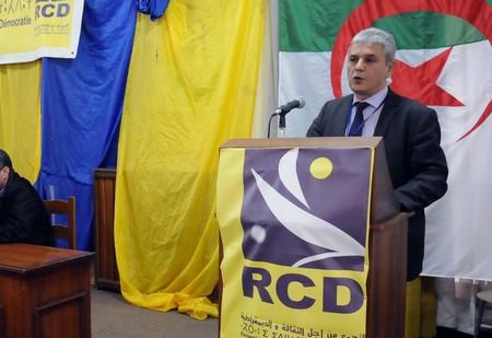 Mohsen Belabbès, président du RCD. New Press