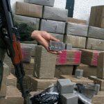 Une grosse quantité de drogue saisie par les gardes-frontières algériens à la frontière ouest. New Press