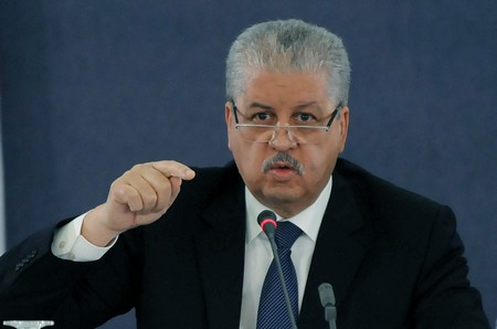 Abdelmalek Sellal. New Press