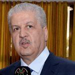 Le Premier ministre, Abdelmalek Sellal. New Press