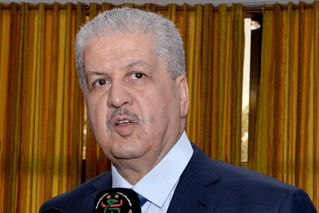Le Premier ministre, Abdelmalek Sellal. New Press