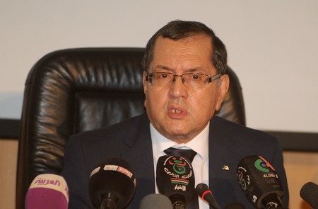 Le ministre de l'Energie, Noureddine Boutarfa. New Press