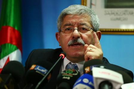 Ouyahia lors de sa conférence de presse de ce matin. New Press