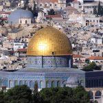 Une vue de la mosquée d'Al-Aqsa. D. R.