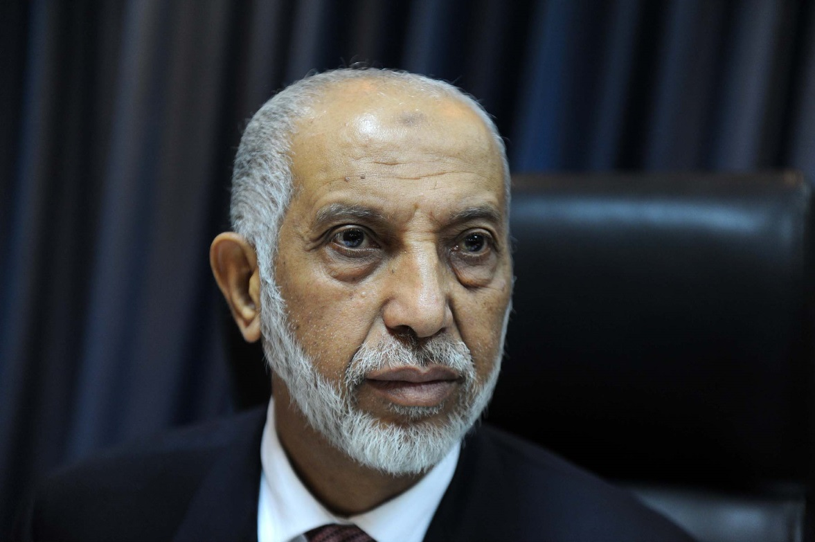 Abdelaziz Belkhadem. New Press