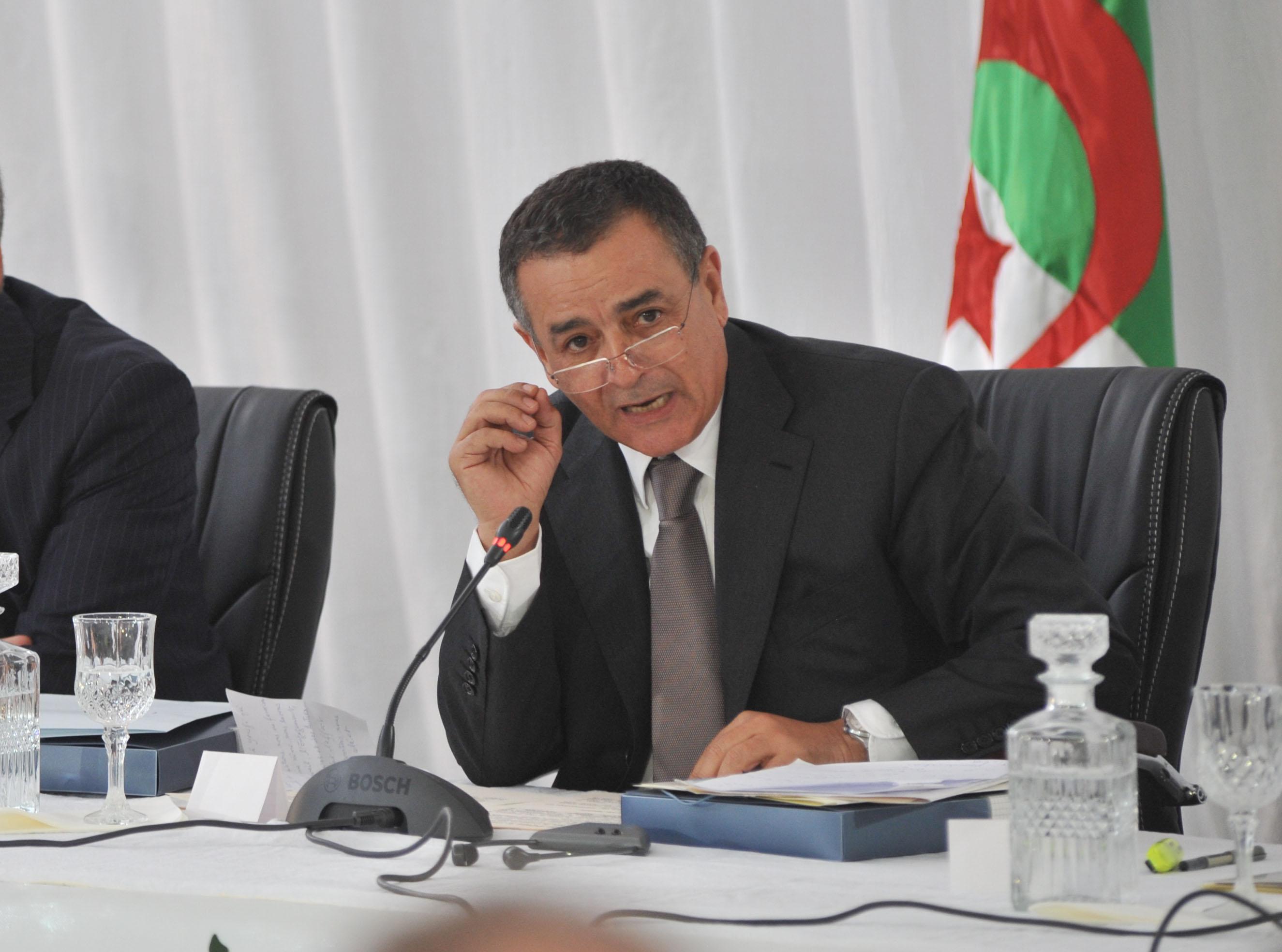 Abdesselam Bouchouareb, ministre de l'Industrie et des Mines. New Press