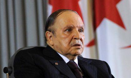Bouteflika exhorte les Algériens à partager l'effort face aux difficultés financières