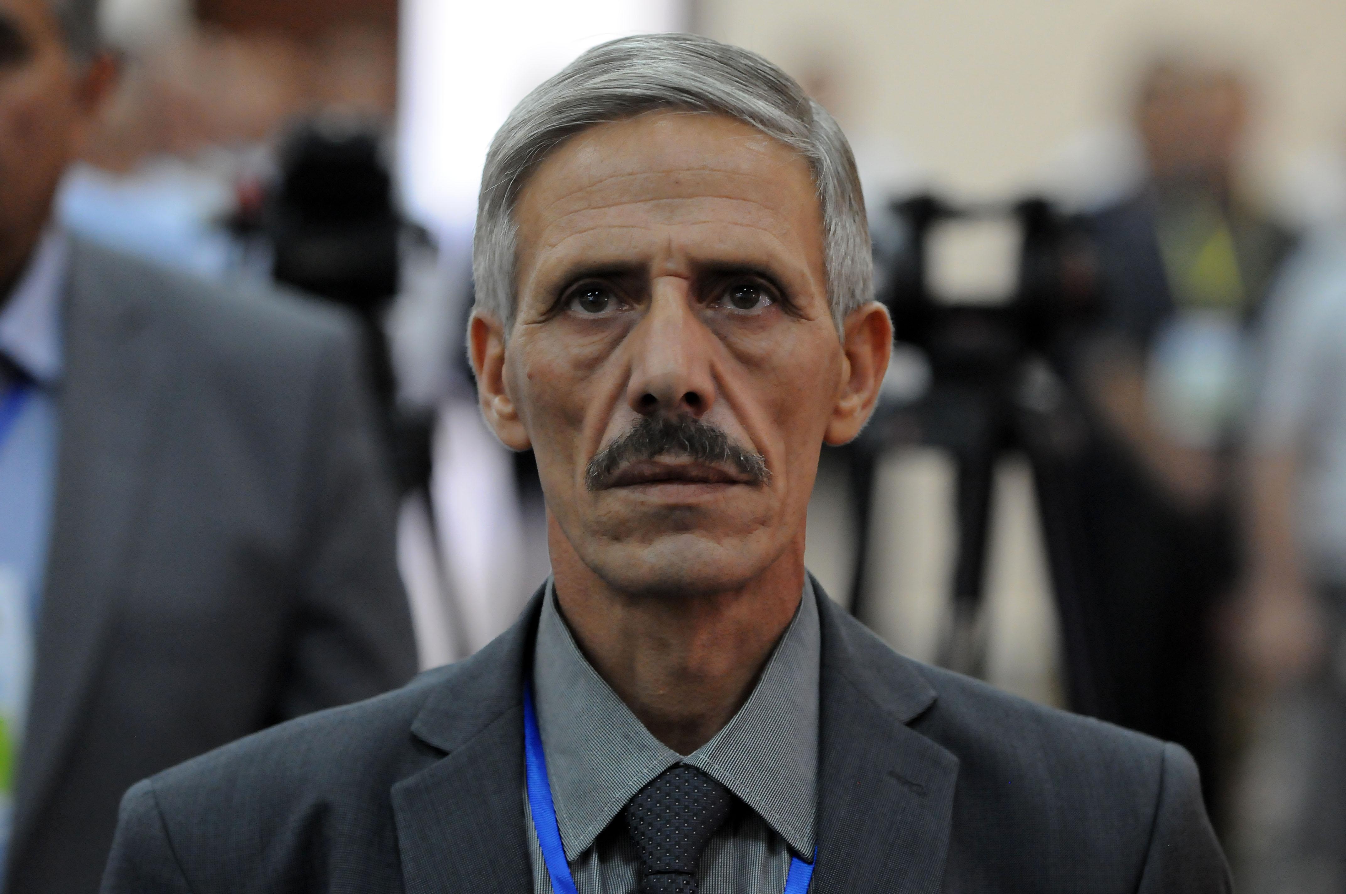Abdelmalek Bouchafa, premier secrétaire du FFS. New Press
