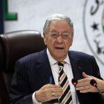 Djamel Ould-Abbès, secrétaire général du FLN. New Press