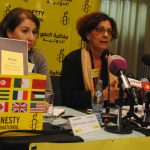 Hassina Oussedik, directrice d'Amnesty International Algérie. D. R.