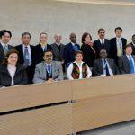 Le Comité consultatif des droits de l'Homme. D. R.