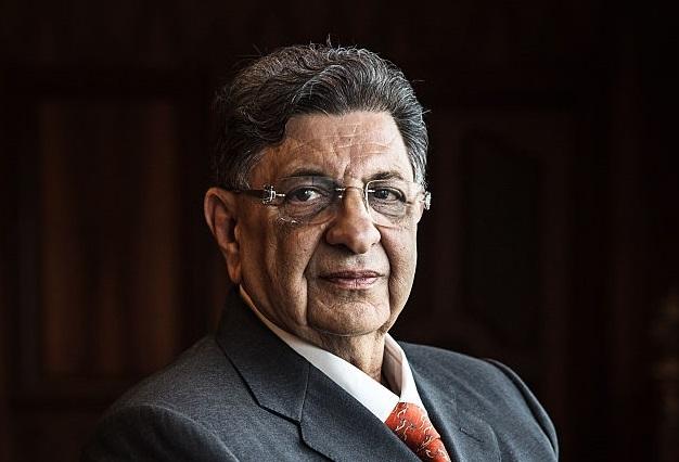 Cyrus S. Poonawalla, patron des laboratoires Serum Institut Of India. D. R.
